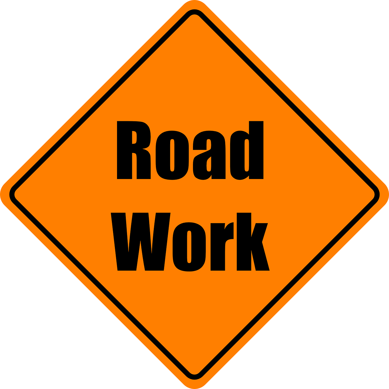 Road Work Sign (JPG)