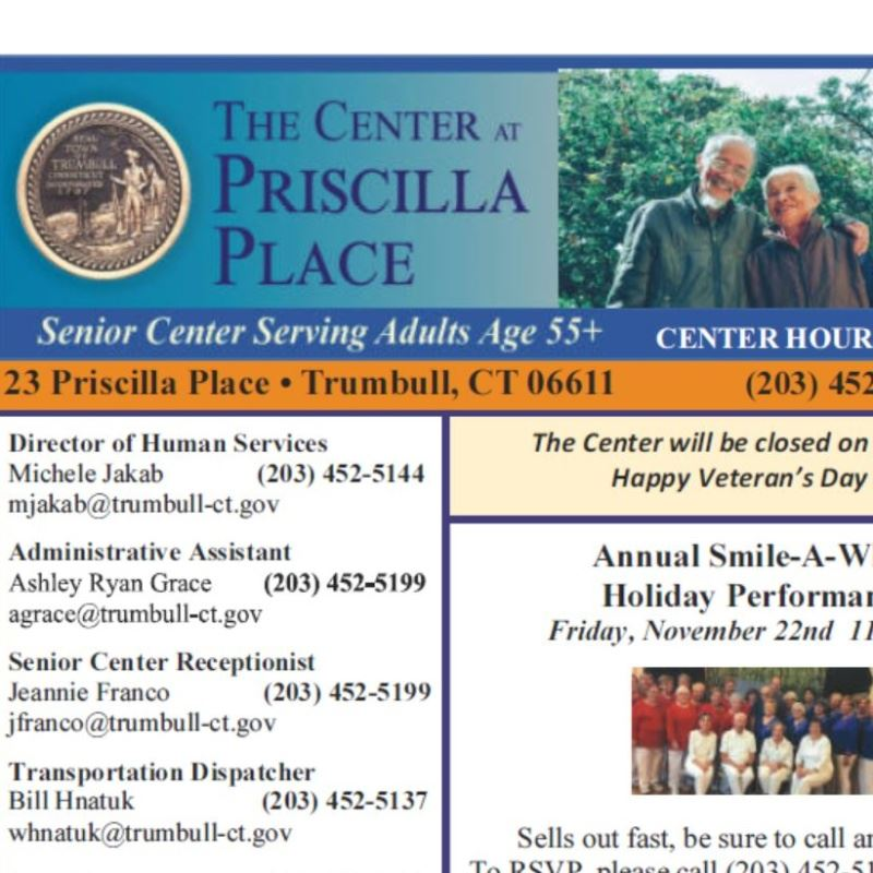 Senior Center Newsletter Image