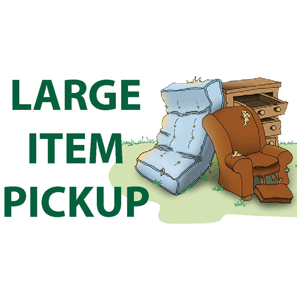 Large Item Pickup Image
