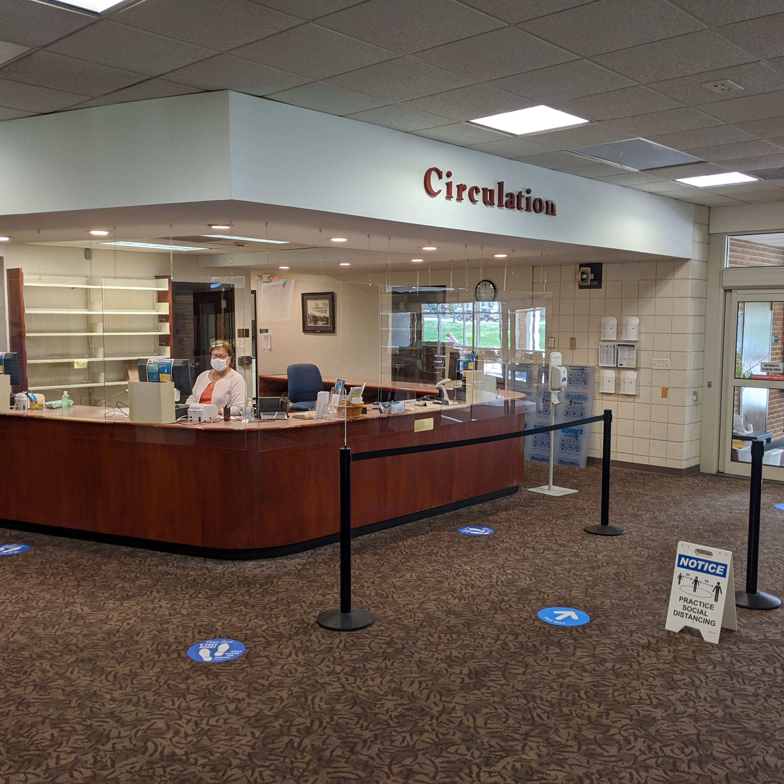 Library Circulation Desk Reopening (JPG)