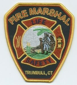Trumbull Fire Marshal Patch