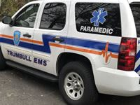 Trumbull Emergency Medical Services Paramedic Vehicle